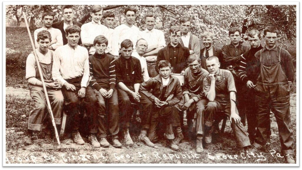 History: Group of George Junior Youth